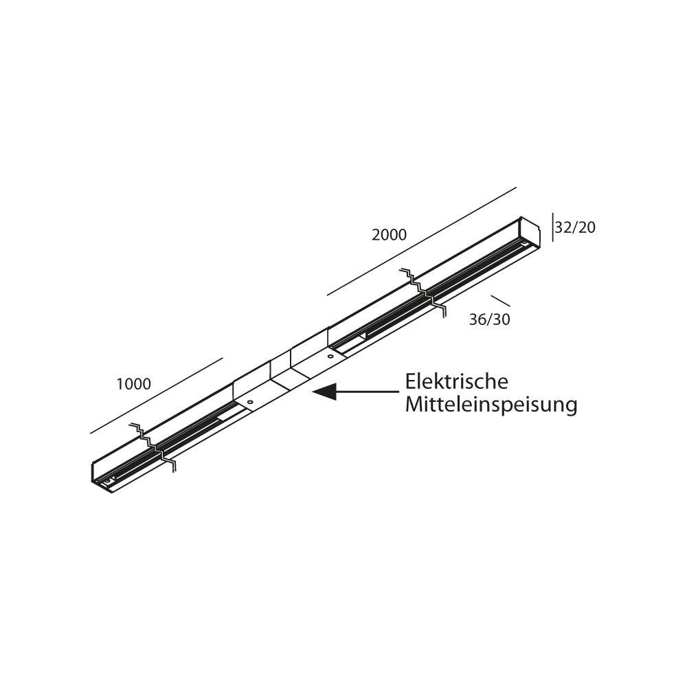 8547 MLN Schiene 1PH